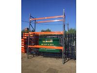 Pallet racking, Sperrin, Used, Heavy Duty, 4.5m high & 2.7m long £150 + VAT