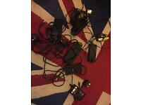 Bundle of 6 dell laptop chargers