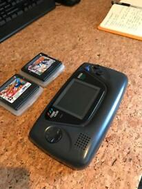 SEGA Game Gear + 2 Games