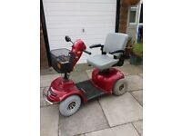 Freerider mobility scooter. 8 mph with speed regulator control. Absolute bargain. recently serviced.