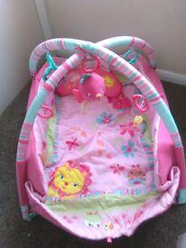 Pink sleeping mat