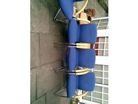 quality expensive office, conference reception, chairs lovely condition set of 4