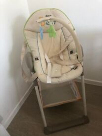 Boxed Hauck baby chair and highchair set new