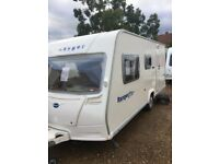 bailey ranger 500/5 2007 5 berth with full awing