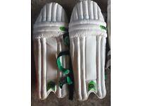 Mix of cricket equipment