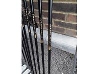 Full set of Tour Hamer Carbon Shaft Golf Clubs including bag