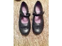 Clarks girls school shoes