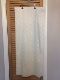 White Net curtains - 3 m width
