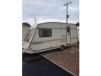 2 berth pageant caravan