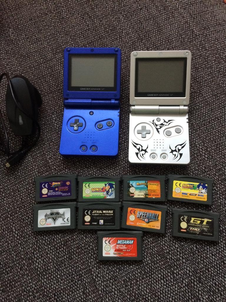 nintendo gameboy advance sp consoles and games bundle in hull