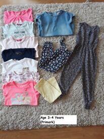 3-4yrs girls bundle
