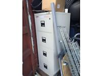Fireking filing cabinet storage fire proof safe. Delivery