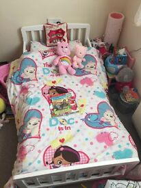 Immaculate Toddler bed