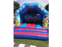 Bouncy castle and softplay licence