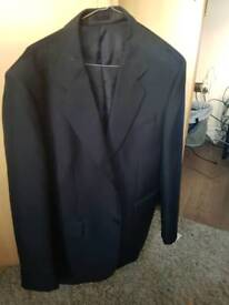 New mens suit jacket size 40 dark blue by carlo primera