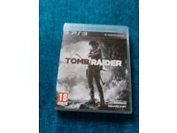 Tomb Raider (2013) Game - Ps3 Version (CAN POST)