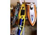 3 various Model boats , motor/sailing can separate