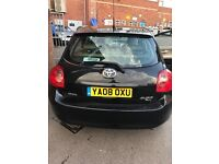 TOYOTA AURIS 2008 T-SPIRIT D-4D, BLACK, 91500 MILES. JUST SERVICED AND FULLY VALETED . MOT OCT 2017
