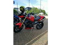 Triumph Street triple with lots of extras