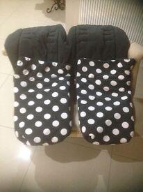 Mamas & Papas footmuffs