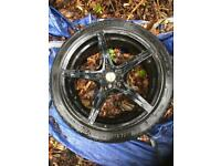 18 inch alloy spare car wheel tyre rim