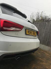 Audi A1 S line blackaddition