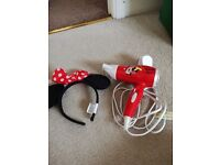 Minnie mouse hairdryer