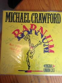 Signed records and collectables