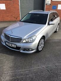 Mercedes C Class Estate Many Extras Full Mercedes Service History Very Clean Car