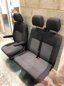 VW T5 / T6 Front Seats ~ Captains Seat & Double Folding