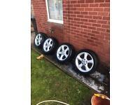 """17"""" BMW alloy wheels/ Vauxhall vivaro"""