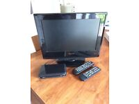 TV 18' and Freeview Box