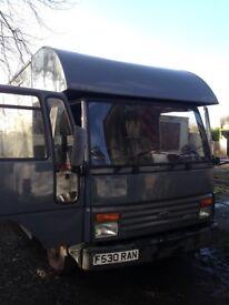 Transit dog vans An horse box spare or repair