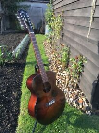 Fine and Rare Guild Twelve String Guitar For Sale
