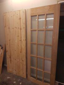 Doors one back one internal £40 each ONO