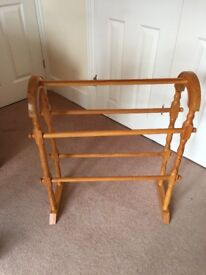 Wooden Clothes Airer / Clothes Horse