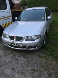 Rover 45 1.6 spares or repair years mot. Suspected head gasget. Using water