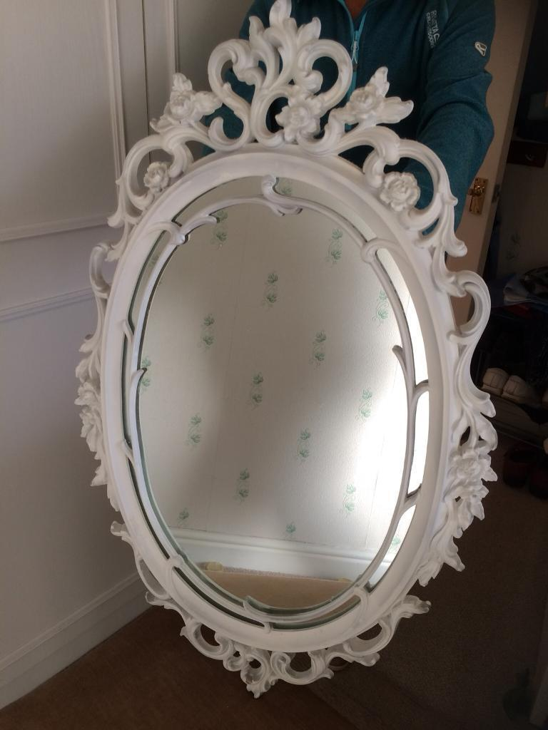 9800e92707e Large Oval Vintage Mirror White Ornate Frame In. Full Size Of Oval Moulding  Meaning Potter Splendid Dollar Tree Mirror Fireplace Frameless Large Gold  Vector