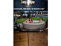 Lay z spa St Lucia & thermal cover hot tub