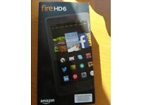 Kindle fire HD6 tablet