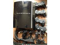 PS3 40GB Console, 4 controllers, 13 games and accessories - Excellent condition