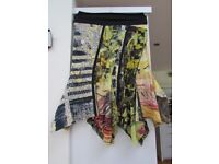 'Legatte Jeans' medium length skirt