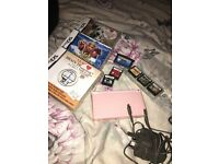 Nintendo DS Lite Pink bundle