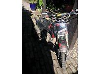 Stomp racing 125cc pit bike