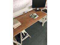 Ikea trestles & Desk tops, must go in 48 hours