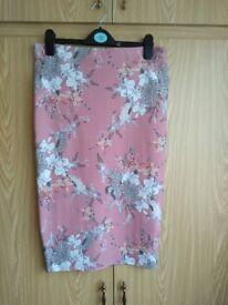 Ladies river island pencil skirt size 12