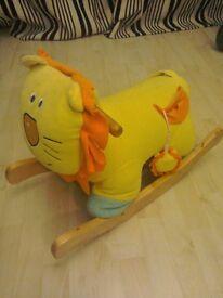 Rocking lion toy