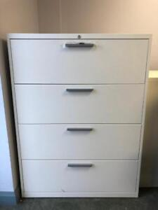Teknion 4 Drawer Lateral Filing Cabinet - $279
