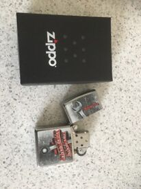Snap on zippo lighter, brand new