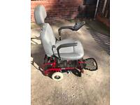 Sterling ruby car transportable electric power chair/mobility scooter.